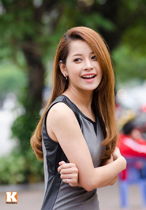 Vẻ đẹp tươi trẻ của hot girl Chi Pu - 5