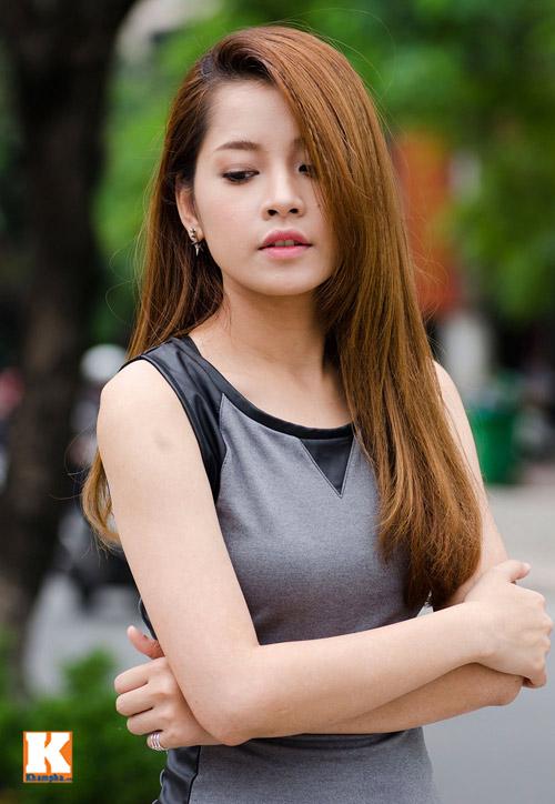 Vẻ đẹp tươi trẻ của hot girl Chi Pu - 4