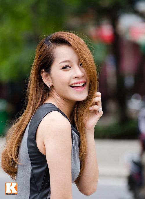 Vẻ đẹp tươi trẻ của hot girl Chi Pu - 7