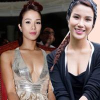 Váy áo gợi cảm của ca sĩ Diệp Lâm Anh