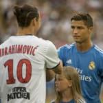 Bóng đá - Ronaldo đọ kỹ thuật với Ibra
