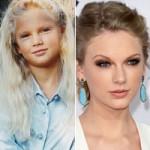 Làm đẹp - Tò mò xem ảnh hồi bé của Taylor Swift