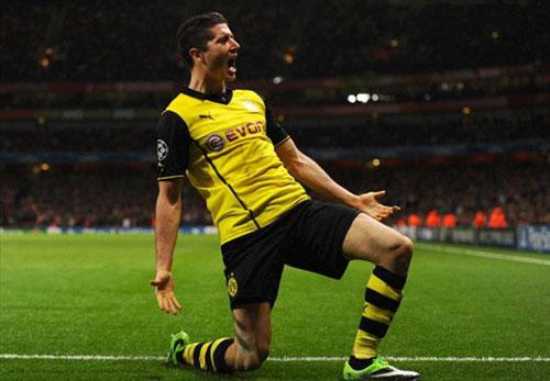 HLV Dortmund tự hào đánh bại Arsenal - 1