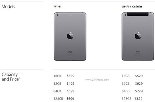 iPad mini 2 màn hình Retina giá 8,4 triệu đồng - 4