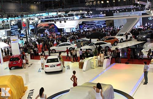 Dàn xe cao cấp ra mắt Motor Show 2013 - 1