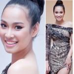 Thời trang - Vương Thu Phương gây thót tim với váy xẻ