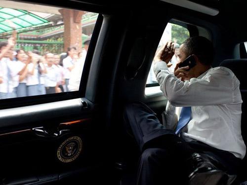 Đoàn xe khủng hộ tống Barack Obama - 2