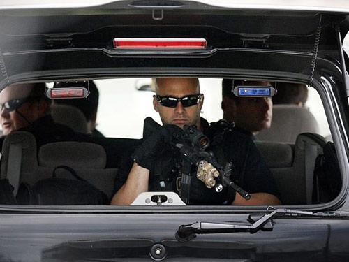 Đoàn xe khủng hộ tống Barack Obama - 4