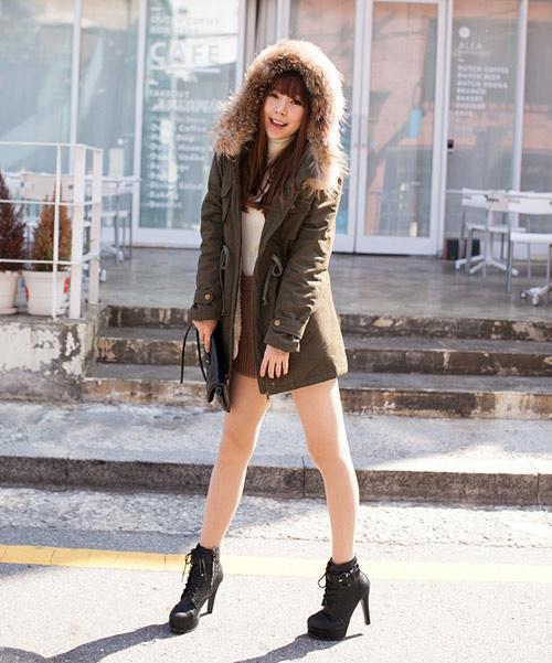 Những kiểu áo khoác giúp bạn gái trẻ hơn - 1