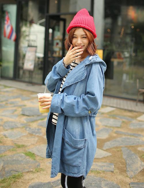 Những kiểu áo khoác giúp bạn gái trẻ hơn - 8