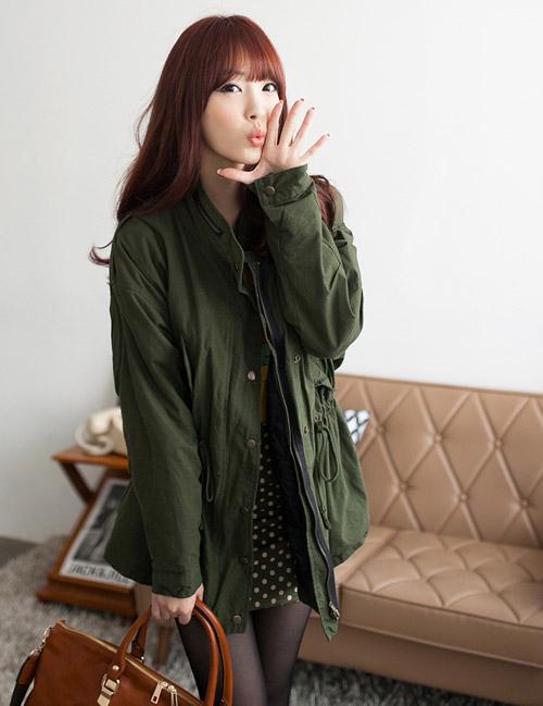 Những kiểu áo khoác giúp bạn gái trẻ hơn - 2