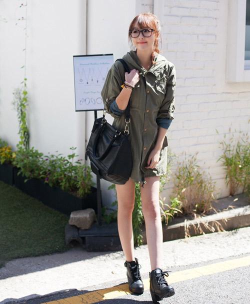 Những kiểu áo khoác giúp bạn gái trẻ hơn - 3