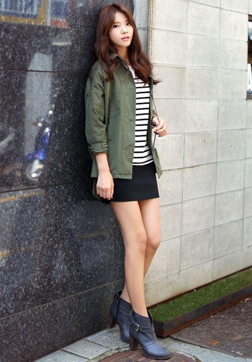 Những kiểu áo khoác giúp bạn gái trẻ hơn - 5