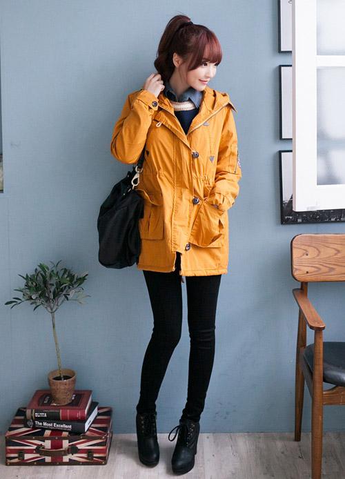 Những kiểu áo khoác giúp bạn gái trẻ hơn - 7