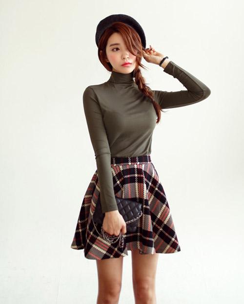 Áo len nào hợp với chân váy đó! - 15