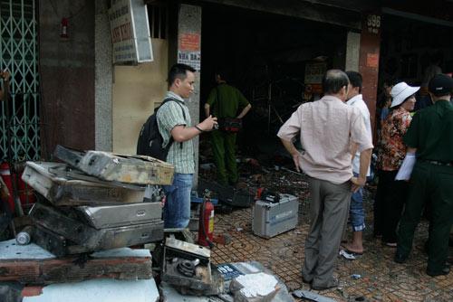 Nổ bình gas, ngôi nhà chìm trong lửa - 6