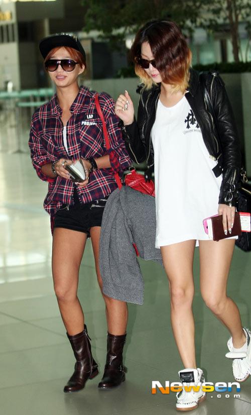 2 thành viên Sistar đã đến Hà Nội - 3