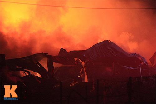 Cháy dữ dội ở Nhà máy Diana Bắc Ninh - 7