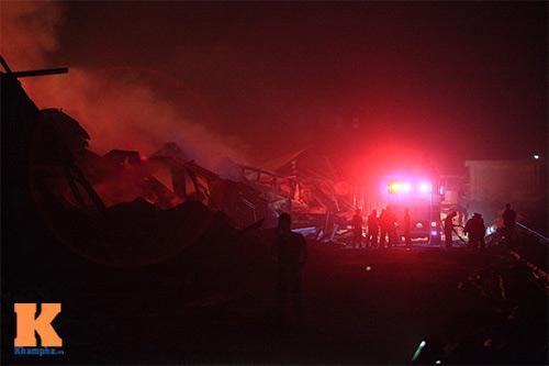 Cháy dữ dội ở Nhà máy Diana Bắc Ninh - 12