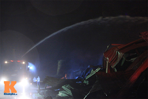 Cháy dữ dội ở Nhà máy Diana Bắc Ninh - 15