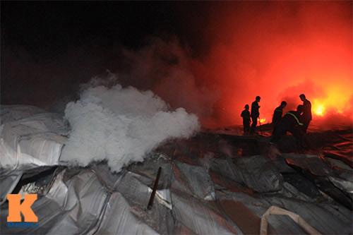 Cháy dữ dội ở Nhà máy Diana Bắc Ninh - 8