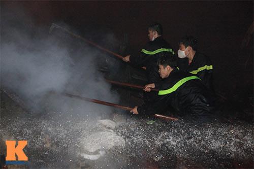 Cháy dữ dội ở Nhà máy Diana Bắc Ninh - 11