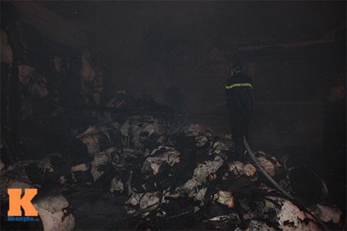 Cháy dữ dội ở Nhà máy Diana Bắc Ninh - 4