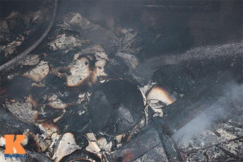 Cháy dữ dội ở Nhà máy Diana Bắc Ninh - 5