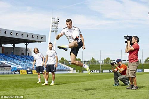 """Real luyện """"tuyệt chiêu"""" đối phó Barca - 1"""