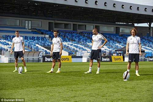 """Real luyện """"tuyệt chiêu"""" đối phó Barca - 5"""