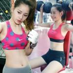 Phim - Hotgirl Chi Pu luyện quyền, tập tạ