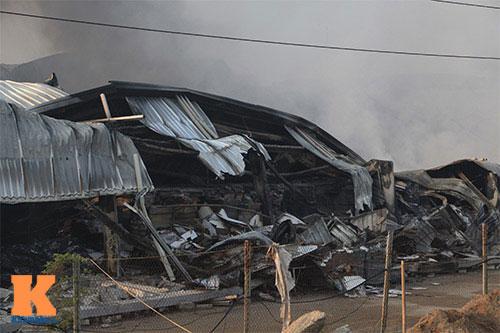 Cháy dữ dội ở Nhà máy Diana Bắc Ninh - 3