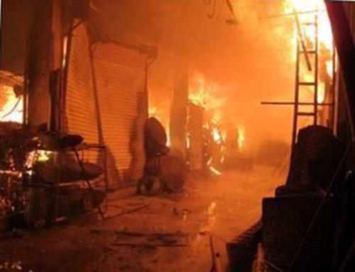 Nửa đêm, xưởng đệm mút bốc cháy - 3