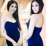 """Thời trang - Hoa hậu Ngọc Hân """"lột xác"""" trắng mịn"""