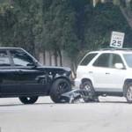 Bóng đá - Bố con nhà Becks gặp tai nạn với siêu xe