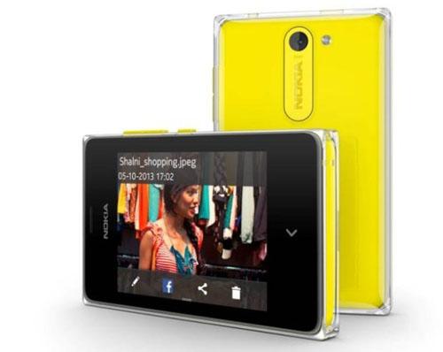 Bộ 3 giá rẻ Asha 500, Asha 502 và Asha 503 ra mắt - 2