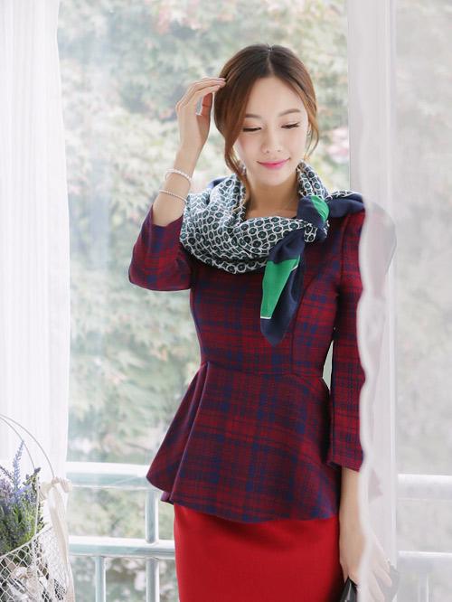 Bí quyết diện váy tới sở mùa thu đông - 15