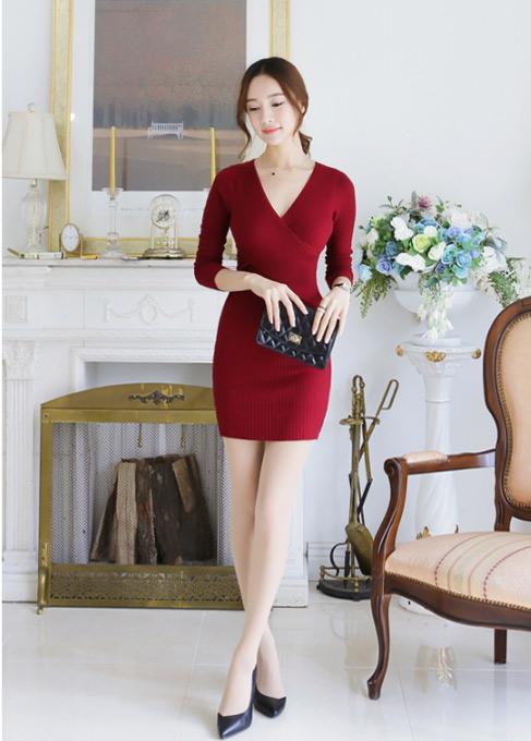 Bí quyết diện váy tới sở mùa thu đông - 4