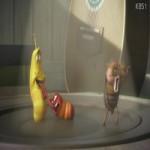 Video Clip Cười - Phim hoạt hình Larva: Speaker Dance