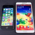 So sánh  bom tấn  Galaxy Note 3 với iPhone 5S