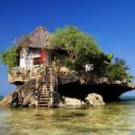 Du lịch - Độc đáo nhà hàng trên đá ở châu Phi