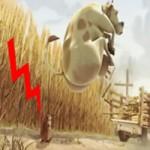 """Video Clip Cười - Chuột chũi """"ngóng"""" nông sản rơi"""