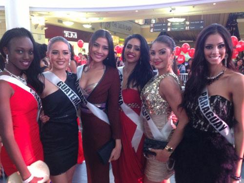 Trương Thị May nổi bật tại Miss Universe - 12