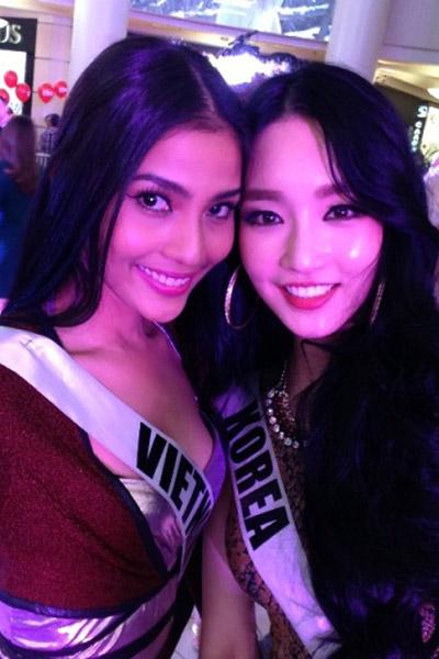 Trương Thị May nổi bật tại Miss Universe - 5