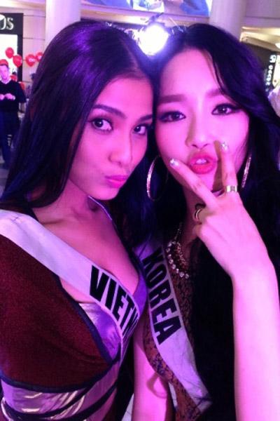 Trương Thị May nổi bật tại Miss Universe - 6