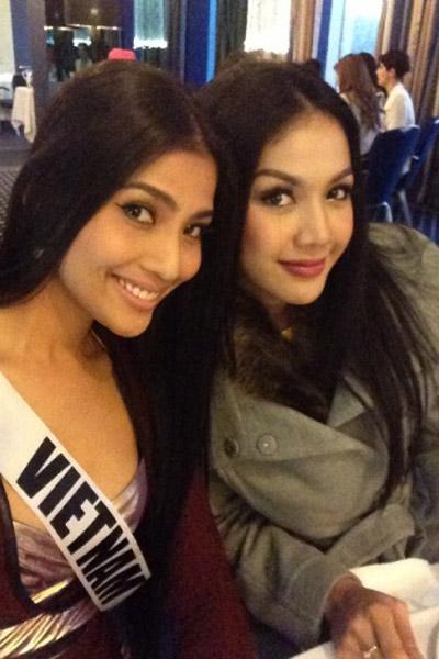 Trương Thị May nổi bật tại Miss Universe - 16