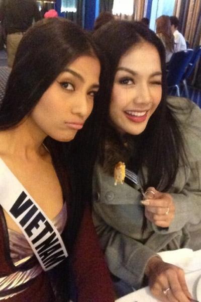 Trương Thị May nổi bật tại Miss Universe - 17
