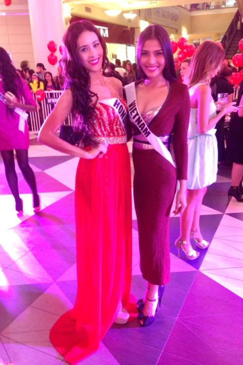 Trương Thị May nổi bật tại Miss Universe - 8