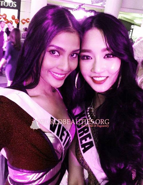 Trương Thị May nổi bật tại Miss Universe - 7