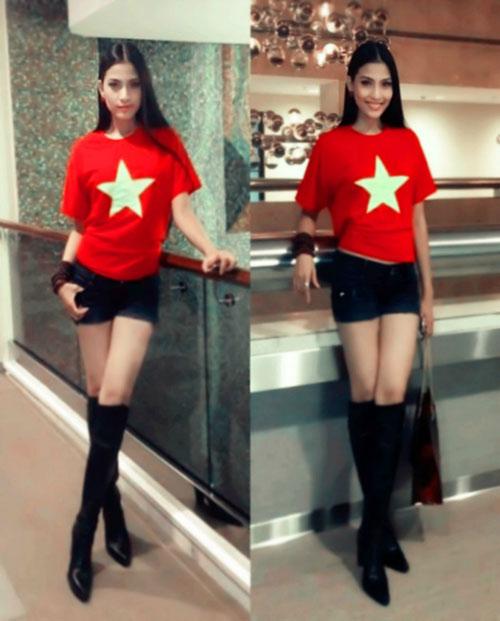Trương Thị May nổi bật tại Miss Universe - 4